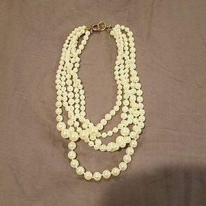 J. Crew pearl statement necklace